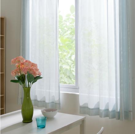 【自然/水晶】易可纺窗纱 高端时尚日本进口面料隔热保温防紫外线