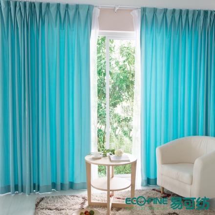【易可纺—记忆】现代简约竖条纹窗帘