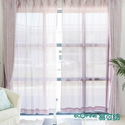 宝石易可纺高档隔热保温防紫外线宝石窗纱 夏天客厅卧室防晒装修必备