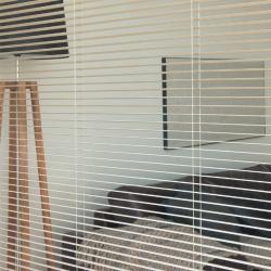 易可纺铝合金竖百叶帘卫生间垂直帘办公室隔断窗帘厨房防水百叶窗